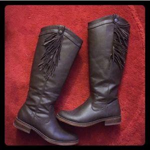 Xoxo shay leather boots